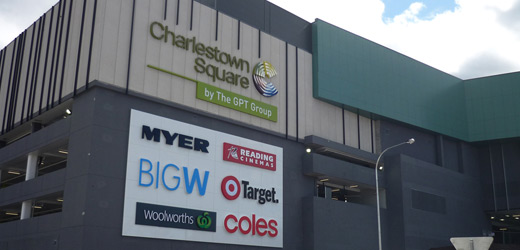 Charlestown Square is the largest shopping and entertainment destination in the Hunter region with more stores and more parking. Find a store. Go. What's Happening. Starts 4th October - 30th November from 9am 30 Pearson Street Charlestown NSW Phone: 02 Open Close Map. Open location using Google Maps.