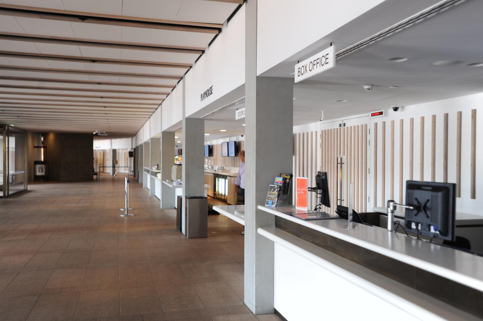 Western Foyer Box Office : Keim sydney opera house western foyer columns